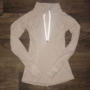 Lululemon Reflective 1/4 Zip Pullover